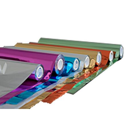 Glasdecorfolie med sandblæsningslook