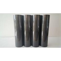 Blank carbonfolie 30,5 cm x 1 m