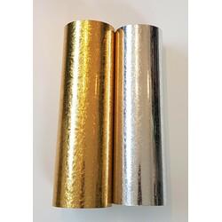 Spejlfolie - Sølv og Guld
